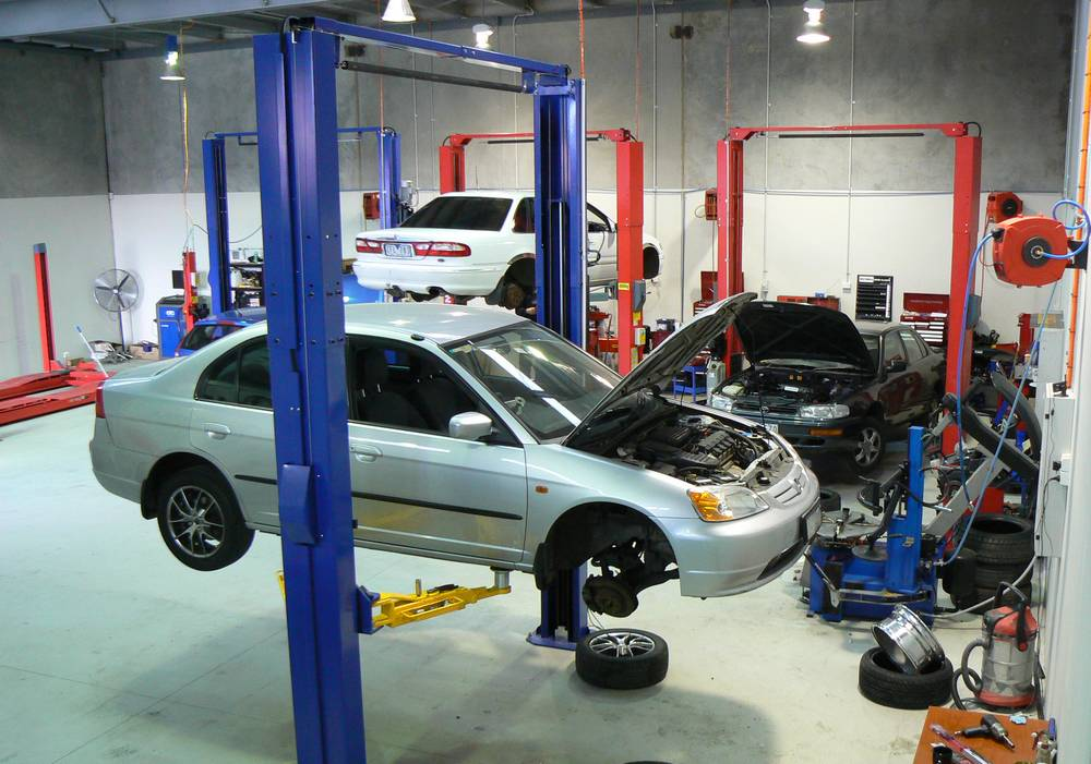 car repair workshop in Singapore